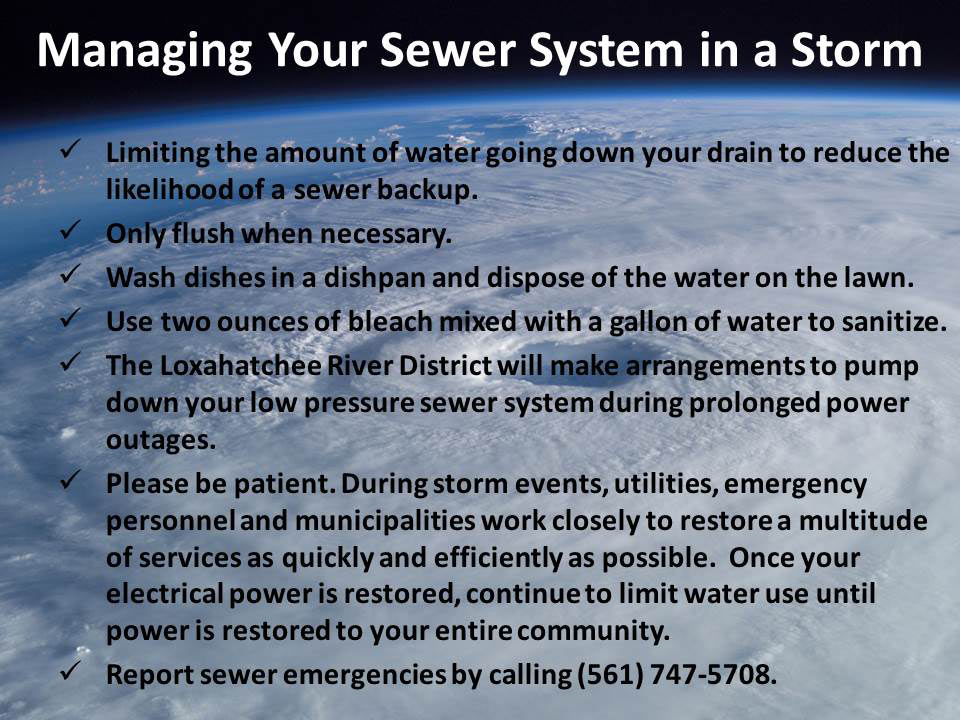 Sewer System Tips