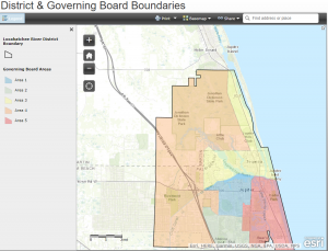 District & Governing Board Boundaries